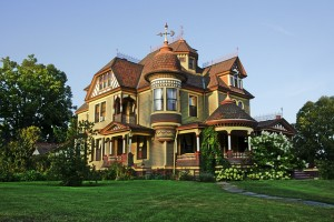victorian house building